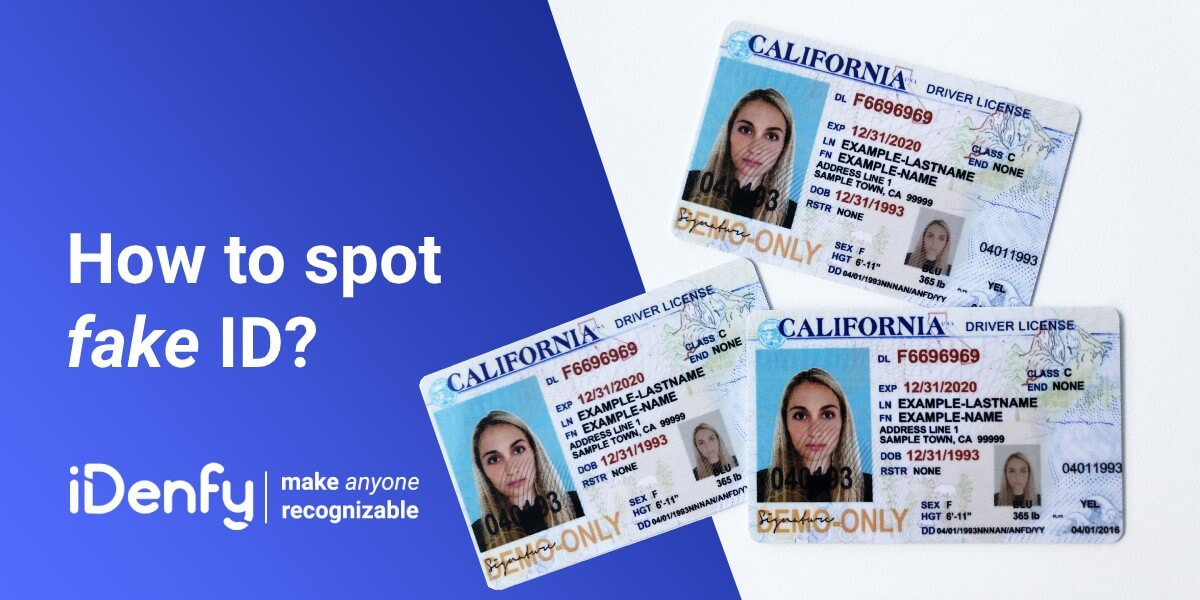 How to Spot a Fake ID & Protect Your Business from it