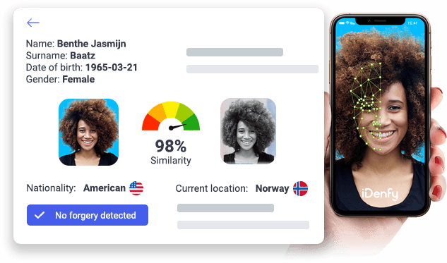 Face recognition dashboard
